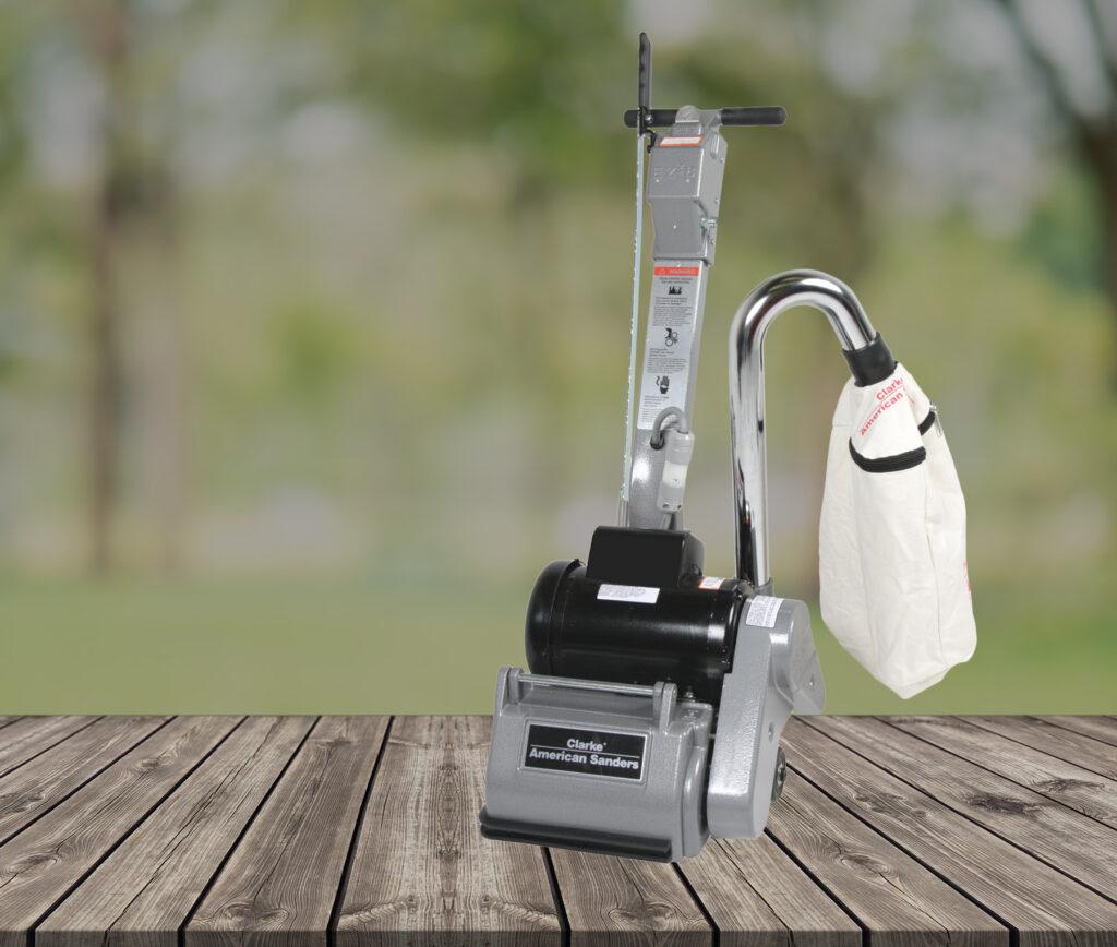 THIS makes DIY deck sanding easy. | Prairieland Rental & Sales